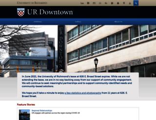 downtown.richmond.edu screenshot