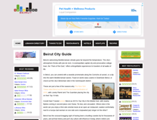 downtownbeirut.com screenshot