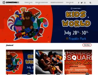 downtowndc.org screenshot