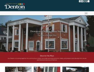 downtowndenton.com screenshot