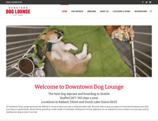 downtowndoglounge.com screenshot