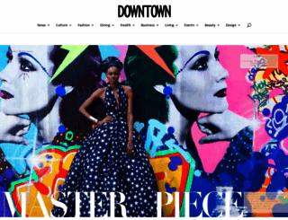 downtownmagazinenyc.com screenshot