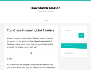 downtownmarion.org screenshot