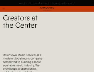 downtownmusicpub.com screenshot