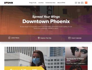 downtownphoenix.com screenshot