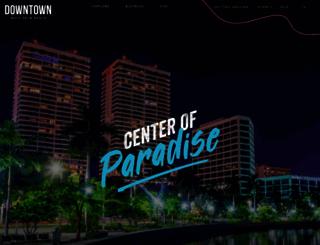 downtownwpb.com screenshot