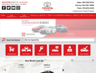doxontoyota.com screenshot