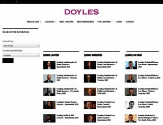 doylesguide.com screenshot