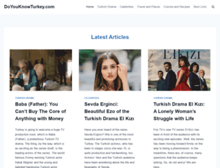 doyouknowturkey.com screenshot