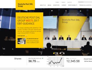dp-dhl.com screenshot