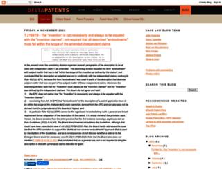 dp-patentlaw.blogspot.de screenshot