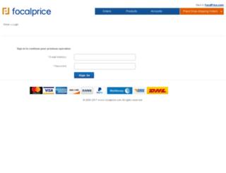 dp.focalprice.com screenshot
