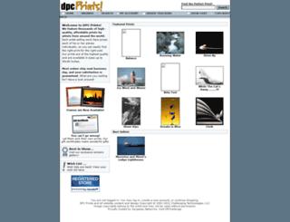 dpcprints.com screenshot