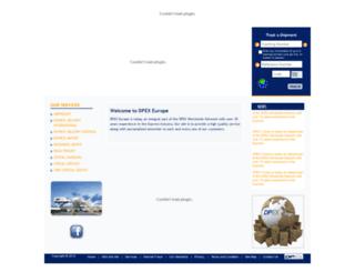 dpexturkey.com screenshot