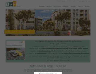 dpfonline.de screenshot