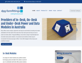 dpg-formfittings.com.au screenshot