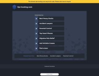 dpi-hosting.com screenshot