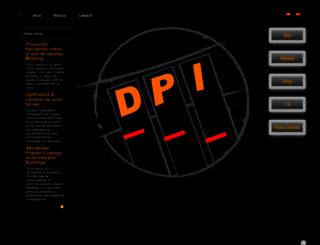 dpi.cat screenshot