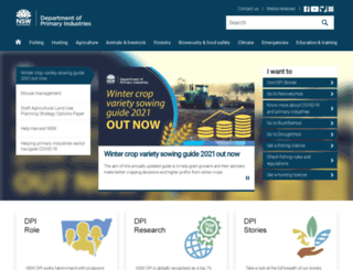 dpi.nsw.gov.au screenshot