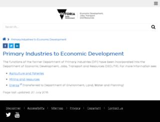 dpi.vic.gov.au screenshot