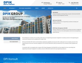 dpik.com.my screenshot