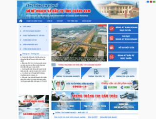 dpiqnam.gov.vn screenshot