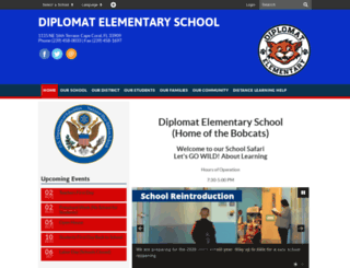 dpl.leeschools.net screenshot