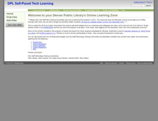 dpllearning.wikidot.com screenshot