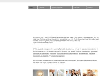 dpmadvies.nl screenshot