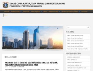 dppb.jakarta.go.id screenshot