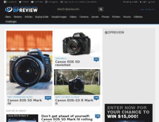 dpreview.co.uk screenshot