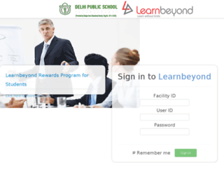 dps.learnbeyond.in screenshot