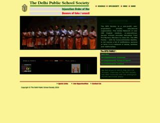 dpsfamily.org screenshot