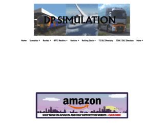 dpsimulation.org.uk screenshot