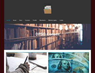 dpsoconseil.com screenshot