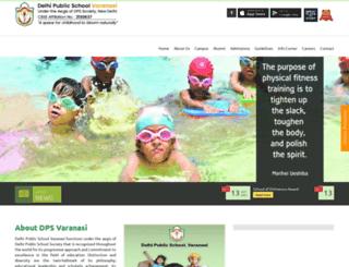 dpsvaranasi.com screenshot