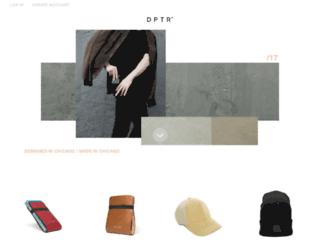 dptrclothing.com screenshot