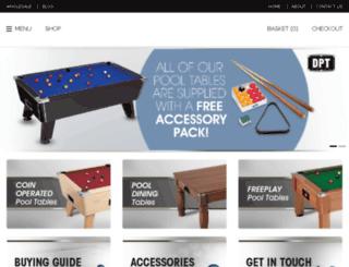 dptsnooker.co.uk screenshot