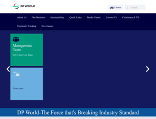 dpworldmumbai.com screenshot