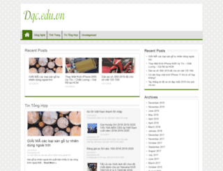 dqc.edu.vn screenshot