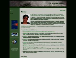 dr-elke-meissner.de screenshot
