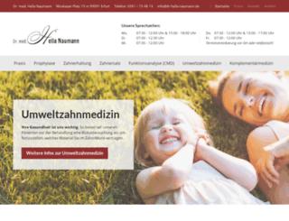 dr-hella-naumann.de screenshot