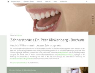 dr-klinkenberg.de screenshot