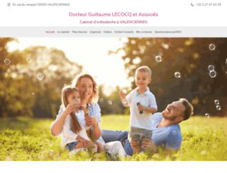 dr-lecocq-guillaume.chirurgiens-dentistes.fr screenshot