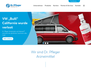 dr-pfleger.de screenshot