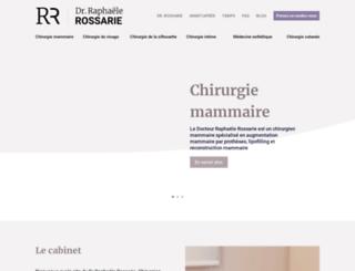 dr-rossarie-chirurgieesthetique.com screenshot
