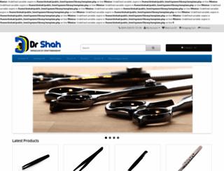 dr-shah.com screenshot