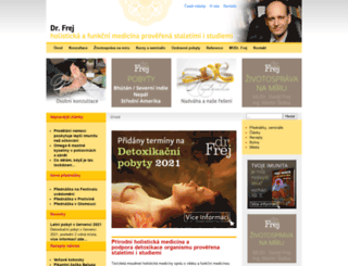 dr.frej.cz screenshot