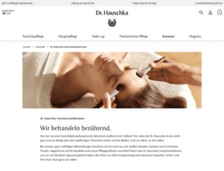 dr.hauschka-naturkosmetikerin.de screenshot