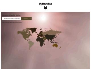 dr.hauschka.com screenshot